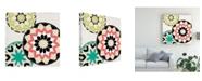 """Trademark Global June Erica Vess Modern Baskets IV Canvas Art - 15"""" x 20"""""""