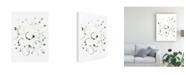 "Trademark Global June Erica Vess Liquid Orbit I Canvas Art - 20"" x 25"""