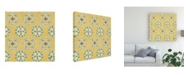 "Trademark Global Daphne Brissonnet Mediterranean Breeze Step 02C Canvas Art - 27"" x 33"""