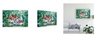 "Trademark Global Kathleen Parr Mckenna Strawberry Picnic Canvas Art - 20"" x 25"""