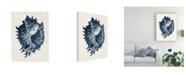 "Trademark Global Vision Studio Coastal Collection in Indigo I Canvas Art - 37"" x 49"""