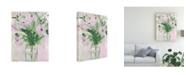 "Trademark Global Melissa Wang The Morning Dew I Canvas Art - 37"" x 49"""