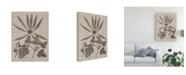 "Trademark Global Vision Studio Eloquent Leaves III Canvas Art - 37"" x 49"""