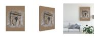 "Trademark Global Ethan Harper Brushwork Architecture Study I Canvas Art - 20"" x 25"""