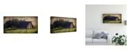"Trademark Global Rachel Perry Widbys Barn II Canvas Art - 37"" x 49"""