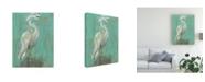 "Trademark Global Jennifer Goldberger Sea Spray Heron I Canvas Art - 20"" x 25"""