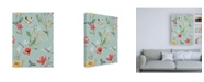 """Trademark Global Janelle Penner Boho Field Pattern VE Canvas Art - 27"""" x 33.5"""""""