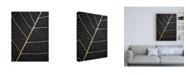 "Trademark Global Design Fabrikken Leaf Veins Fabrikken Canvas Art - 27"" x 33.5"""