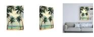 """Trademark Global Design Fabrikken Palm Sky 3 Fabrikken Canvas Art - 19.5"""" x 26"""""""