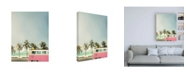 """Trademark Global Design Fabrikken Surf Bus Pink Fabrikken Canvas Art - 27"""" x 33.5"""""""