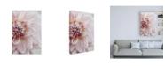 "Trademark Global Brooke T. Ryan Blush Pink Dahlia Canvas Art - 27"" x 33.5"""