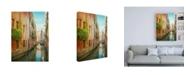 "Trademark Global Brooke T. Ryan Vintage Inspired Venice Canvas Art - 27"" x 33.5"""
