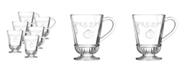 La Rochere La Rochere Versailles 9-ounce Coffee Cup, Set of 6
