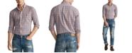 Polo Ralph Lauren Men's Classic Fit Performance Plaid Twill Shirt