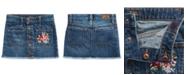 Polo Ralph Lauren Little Girls Denim Button Skirt