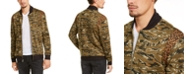INC International Concepts INC Men's Vices Abstract Camouflage Print Bomber Jacket, Created for Macy's