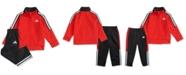adidas Little Boys 2-Pc. Tri-Color Jacket & Pants Set