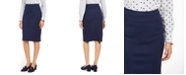 Charter Club Petite Ponte Tummy-Control Pencil Skirt, Created for Macy's