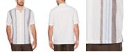 Cubavera Men's Yarn-Dye Panel Shirt