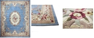 KM Home CLOSEOUT!  Palace Garden Aubusson Light Blue 5' x 8' Area Rug