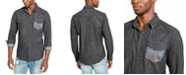 American Rag Men's Dark Chambray Shirt, Created For Macy's