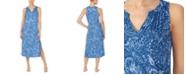 Lauren Ralph Lauren Paisley-Print Ballet Length Nightgown