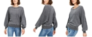 American Rag Juniors' Textured Dolman-Sleeve Top, Created For Macy's