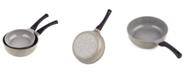 Cook N Home Nonstick Ceramic Coating Saute Skillet Pans 2-Piece Set