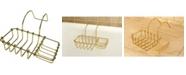 Kingston Brass Vintage Clawfoot Soap and Sponge Holder in Polished Brass