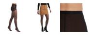 Hue Women's Windowpane Sheers with Control Top Pantyhose