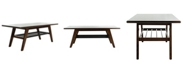 Furniture Seth 2-Tier Coffee Table, Quick Ship