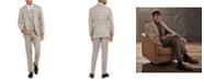 Tallia Men's Slim-Fit Plaid Flannel Suit Separates