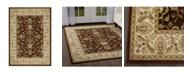 "Global Rug Designs Bridgeport Home Vision VIS09 Brown 5'2"" x 7'2"" Area Rug"