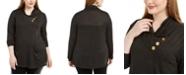 Belldini Plus Size Cowlneck Tunic Sweater