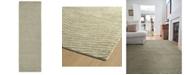 """Kaleen Textura TXT05-50 Green 2'6"""" x 8' Runner Rug"""