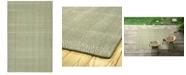 """Kaleen Ziggy ZIG01-23 Olive 5' x 7'6"""" Area Rug"""