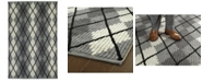 """Kaleen Paracas PRC01-68 Graphite 3'6"""" x 5'6"""" Area Rug"""