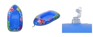 """Northlight 44"""" Inflatable Sea Life Children's Swimming Pool Boat Raft Float"""