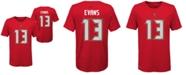 Nike Big Boys Mike Evans Tampa Bay Buccaneers Pride Name and Number T-Shirt