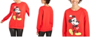 Disney Juniors' Mickey Mouse Christmas Sweatshirt