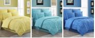 Fiesta Luna Pintuck 4-Piece King Comforter Set