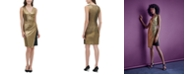 Tommy Hilfiger Metallic Jersey Wrap Dress