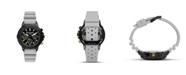 Columbia Men's Peak Patrol Gray Silicone Strap Chronograph Watch 42mm