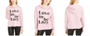 Rebellious One Juniors' Love To Be Lazy Hoodie