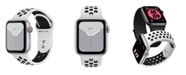 Apple Watch Series 5 Apple Watch Nike Series 5 GPS + Cellular, 40mm Silver Aluminum Case with Pure Platinum/Black Nike Sport Band