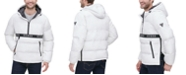 GUESS Men's Hooded Popover Puffer