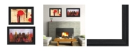 "Trendy Decor 4U NYC Harmony 2-Piece Vignette by Cloverfield Co, Black Frame, 19"" x 15"""