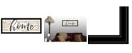 "Trendy Decor 4U Home by Marla Rae, Ready to hang Framed Print, Black Frame, 39"" x 15"""