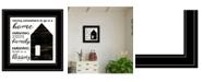 "Trendy Decor 4U Trendy Decor 4U A Blessing by Cindy Jacobs, Ready to hang Framed Print, Black Frame, 15"" x 15"""