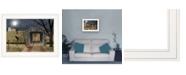 "Trendy Decor 4U Sleepy Hollow Bridge by Billy Jacobs, Ready to hang Framed Print, White Frame, 19"" x 15"""